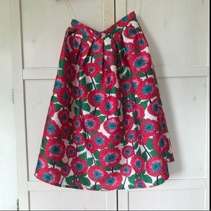 Floral A-Line Skirt